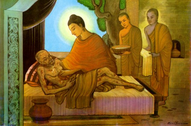 The Buddha and the Sick Monk