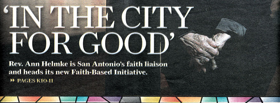 NEWS: Faith Liaison for city known for experience