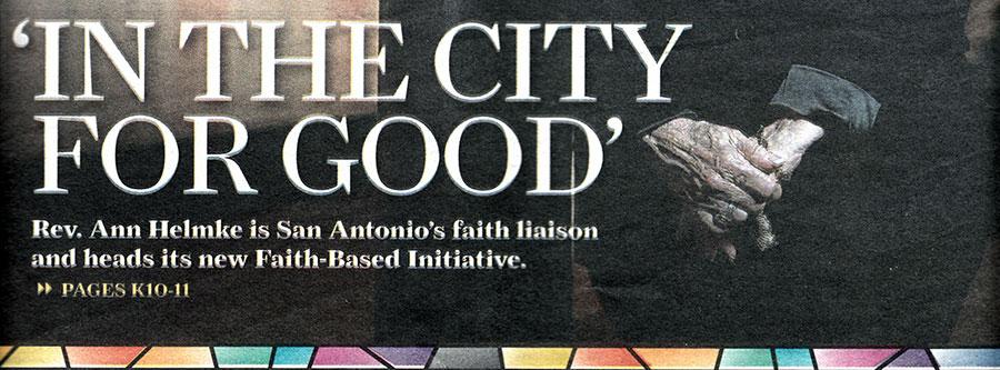 NEWS: Faith Liaison for city known for experience