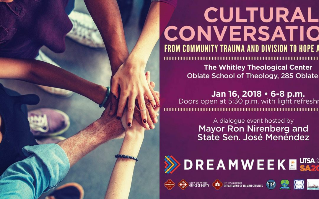 ******POSTPONED BECAUSE OF WEATHER**** Cultural Conversations: From Community Trauma and Division to Hope and Action