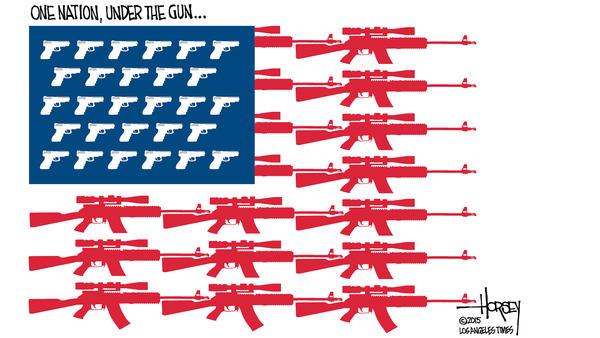 Poem: America is a Gun, by Brian Bilston