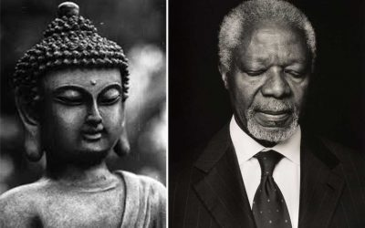 Happy Birthday To . . . Buddha & Kofi
