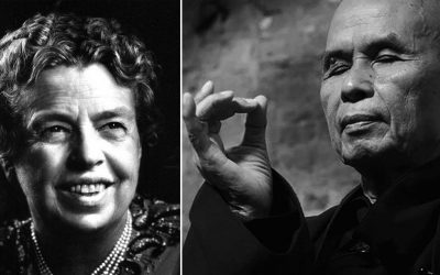 Happy Birthday To . .  Eleanor & Thich Nhat Hanh