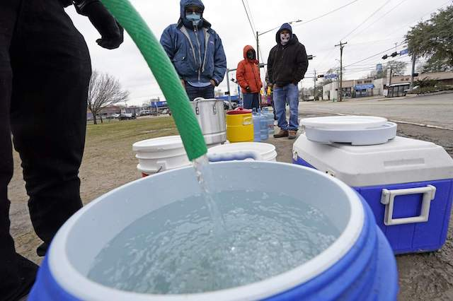 Water and Food Distributions