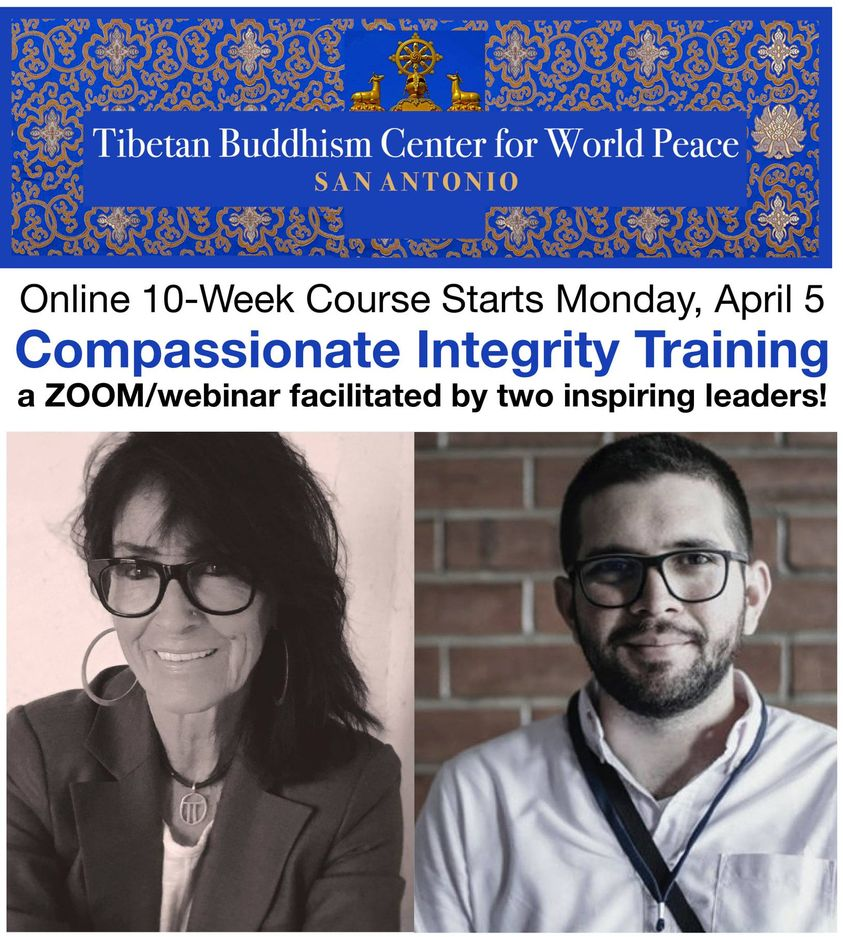 Compassion Integrity Training poster