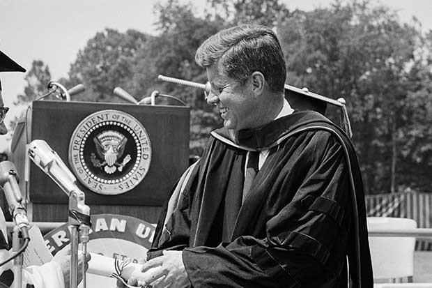 JFK: Enmities Between Nations  Do Not Last Forever