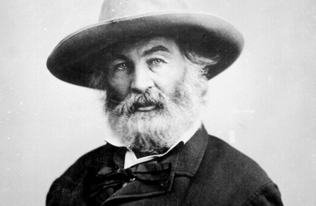 "Walt Whitman: ""dismiss whatever insults your own soul"""