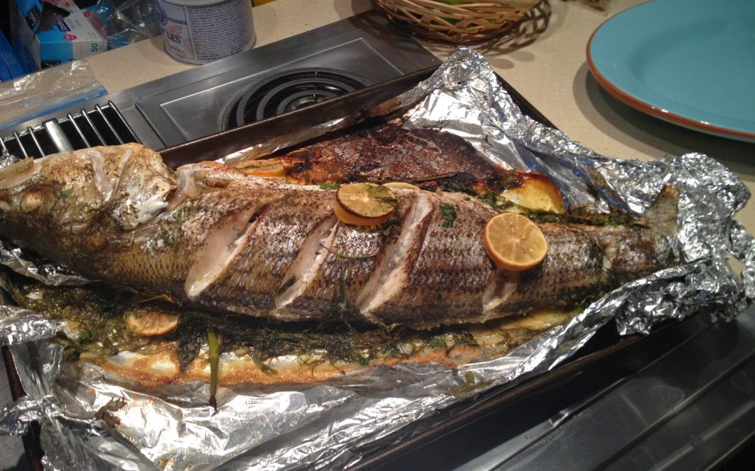How Babicka Baked the Fish