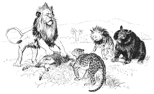 The Lion and the Beasts