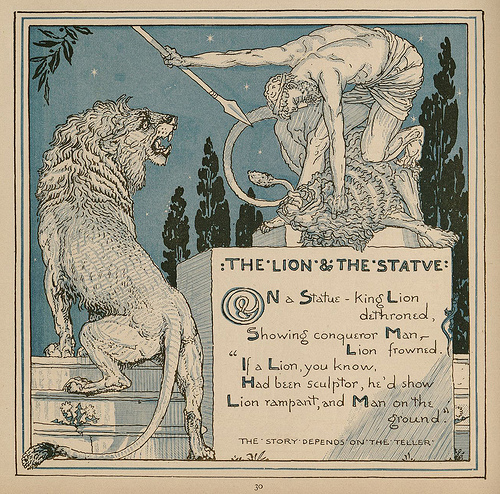 The Lion and the Statue