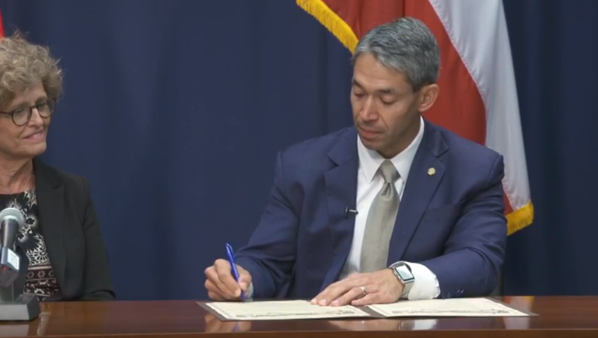 City of San Antonio News Release on signing of Charter of Compassion Resolution