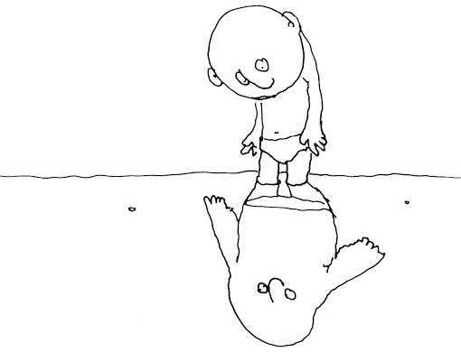 "Poem: ""Reflection,"" by Shel Silverstein"
