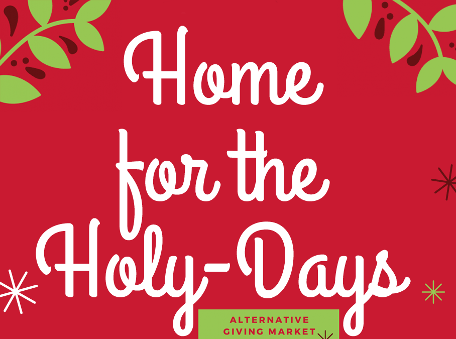 Just 10 days left in 2018. Still time to gift clothes, food, and shelter for the Holy-Days- Check out this amazing alternative giving guide