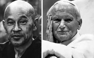 Happy Birthday To . .  . Shunryu & Pope John Paul II