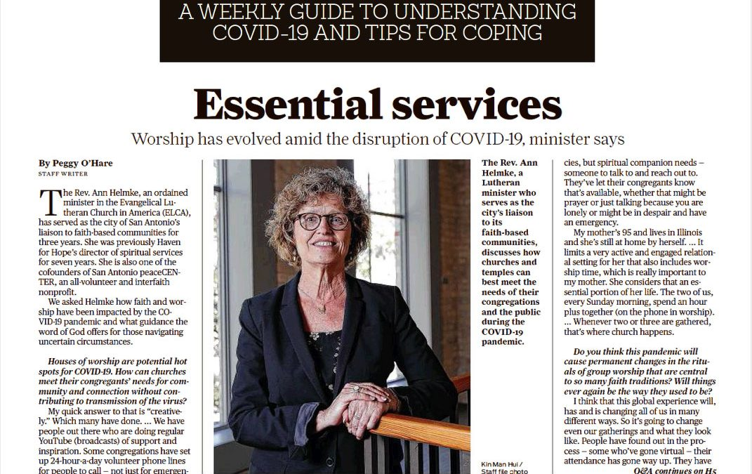 NEWS: Essential services — Worship has evolved amid the disruption of COVID-19, minister says