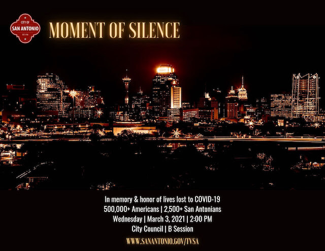 Moment of Silence – March 3, 2021